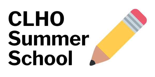 CLHO Summer School pencil logo